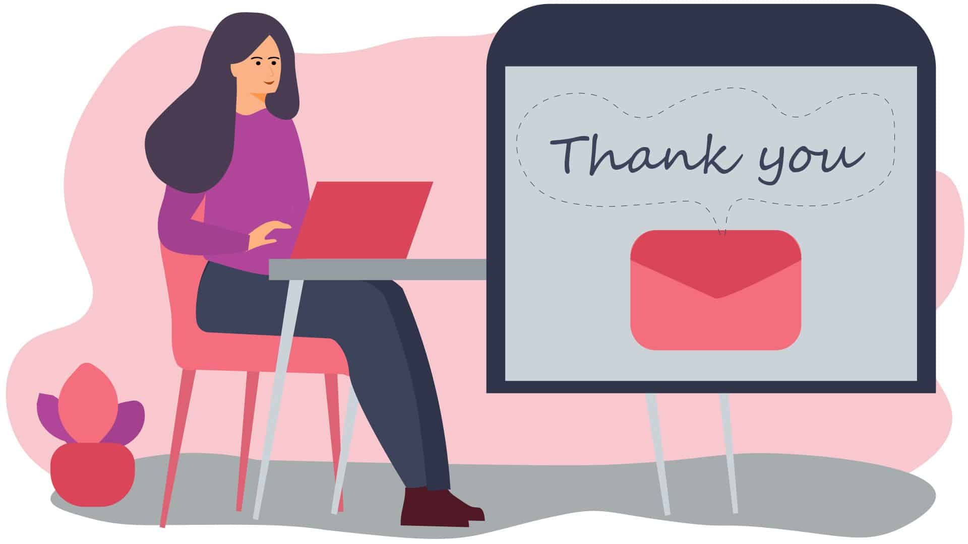 How to write a thank you email after an interview with samples.