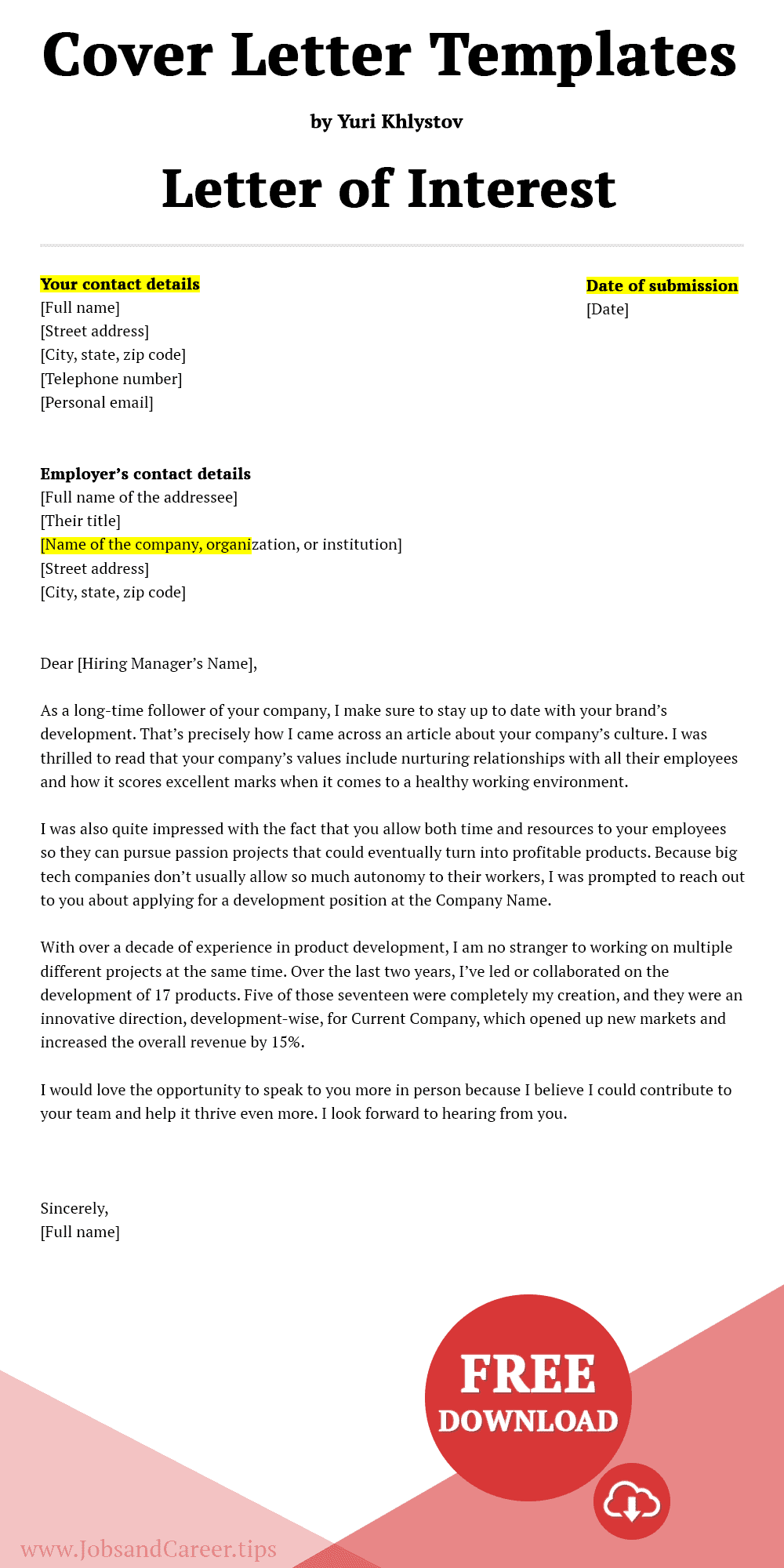 Click to download resignation letter due to retirement template Word document.